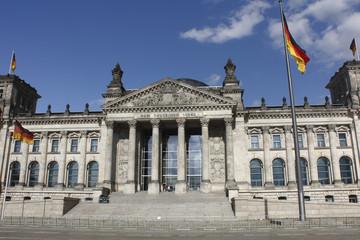 Foto op Canvas Berlijn Berlino, Parlamento,Reichstag