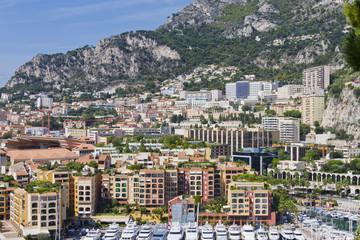 Fontvieille - new district of Monaco