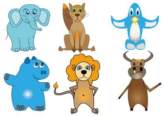 детские рисунки зверей