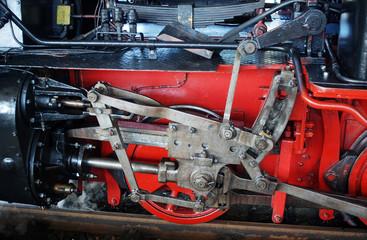 vintage Steam train detail