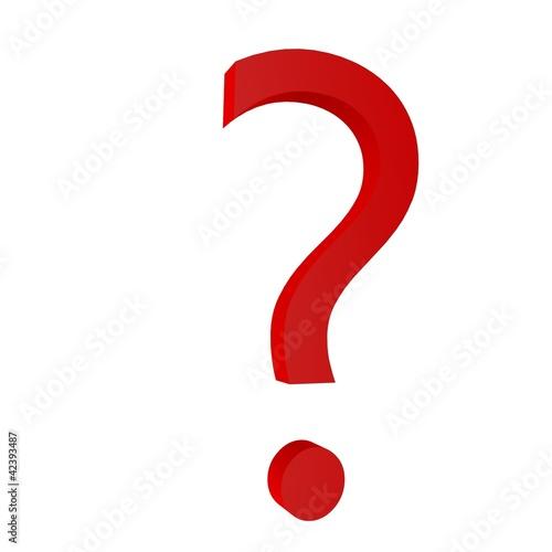 Punto Interrogativo 3d Rosso Immagini E Fotografie Royalty Free Su