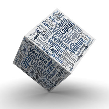 VC Venture Capital - Würfel / Cube