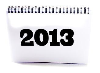 calendrier 2013 noir et blanc
