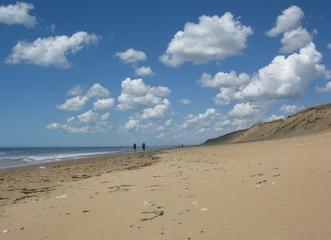plage de Vendée au printemps