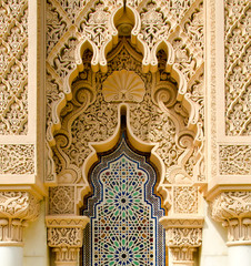 Photo sur Plexiglas Maroc Moroccan architecture traditional
