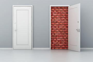 3d door no way out