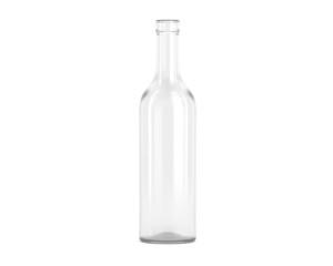Flasche Weiß Offen