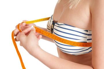 Brustumfang messen