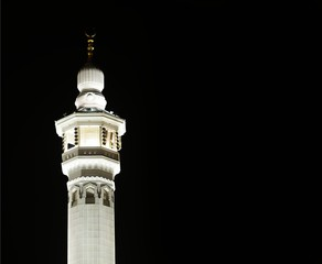 Fototapete - Makkah Kaaba minarets
