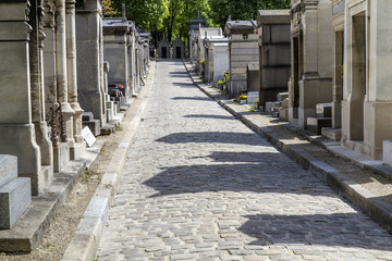 Historischer Friedhof in Paris, Frankreich