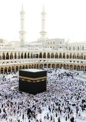 Fototapete - Makkah Kaaba Hajj Muslims