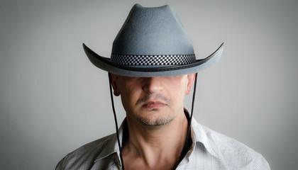 Cowboy hat is too big