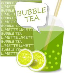 Bubble Tea Limette
