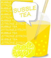 Bubble Tea Zitrone
