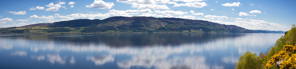 Panorama of Loch Ness