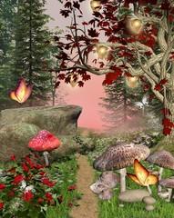 Wall Mural - Enchanted nature series - pathway