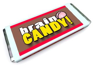 Brain Candy Chocolate Bar Wrapper Stimulate Ideas