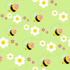 sfondo con api