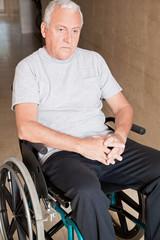 Retired Man on Wheelchair