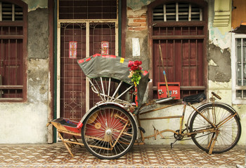 Old Trishaw, George Town, Penang