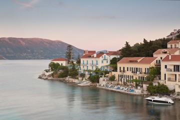 Fiskardo on the Island of Kefalonia in Greece