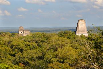 mayan tikal ruins, guatemala