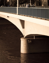 Bridge in city
