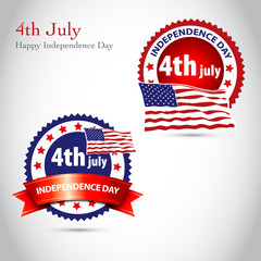 Happy Independence Day vintage background