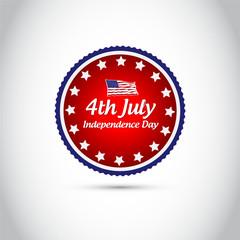 Independence Day vintage background