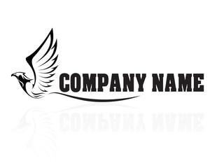 Hawk,Falcon,Eagle - vector company logo, sign, icon