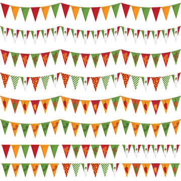 mexican party bunting