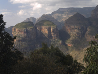 Aluminium Prints THree Rondevels, Blyde River Canyon, South Africa