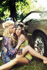 Hippie ladies
