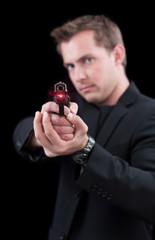 Laser on a gun