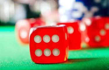 cubes for poker