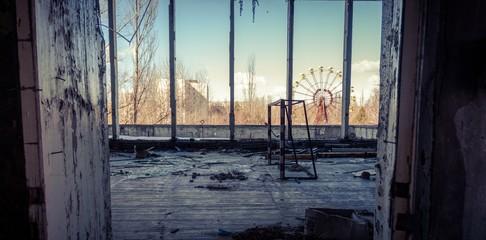 Abandoned room in chernobyl 2012