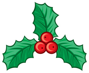 christmas holly berry symbol