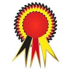 Satin prize medal, Germany