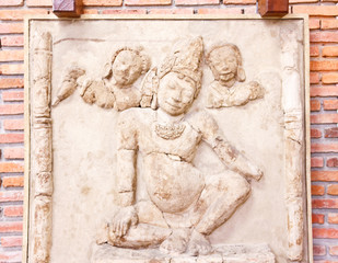 Statue in Phra Pathom Chedi