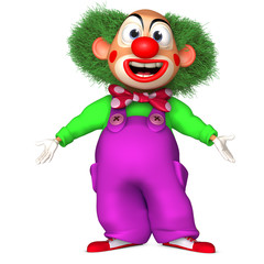 Wall Murals Sweet Monsters cartoon clown