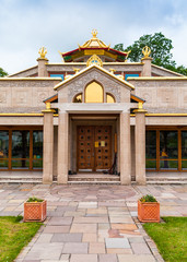 Kadampa Buddhist Temple doorway