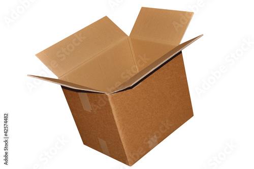 carton d 39 emballage ouvert photo libre de droits sur la banque d 39 images image. Black Bedroom Furniture Sets. Home Design Ideas