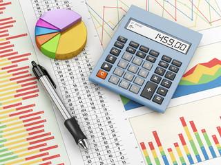 Obraz Financial analysis - fototapety do salonu