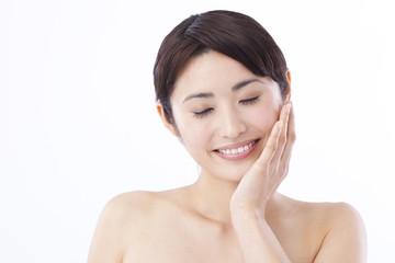 A beautiful Japanese woman