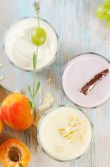 fresh fruit yogurt
