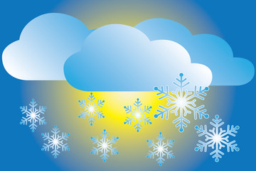 weather icons snowfall