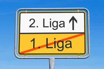 1. Liga und 2. Liga - Der Abstieg