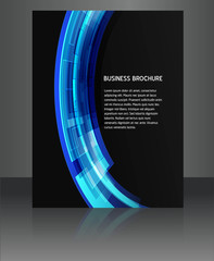 abstract  flyer vector brochure design illustration