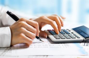 Obraz Accounting. - fototapety do salonu