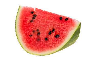 Slice of Watermelon (Citrullus lanatus)